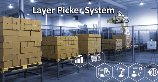 Layer-picking-system
